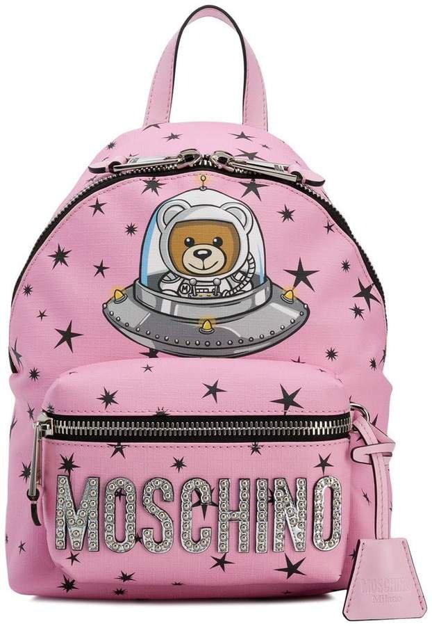 space teddy bear backpack