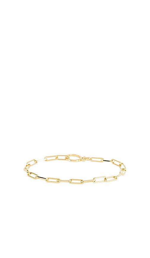 gorjana Parker Bracelet in Gold   REVOLVE
