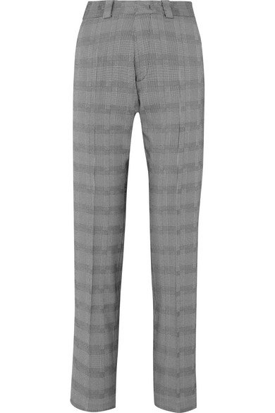 Vetements | Houndstooth wool-blend slim-leg pants | NET-A-PORTER.COM