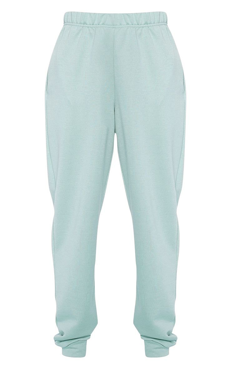 Light Mint Casual Joggers | Trousers | PrettyLittleThing
