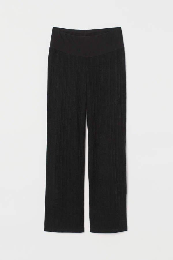 MAMA Jersey Pants - Black
