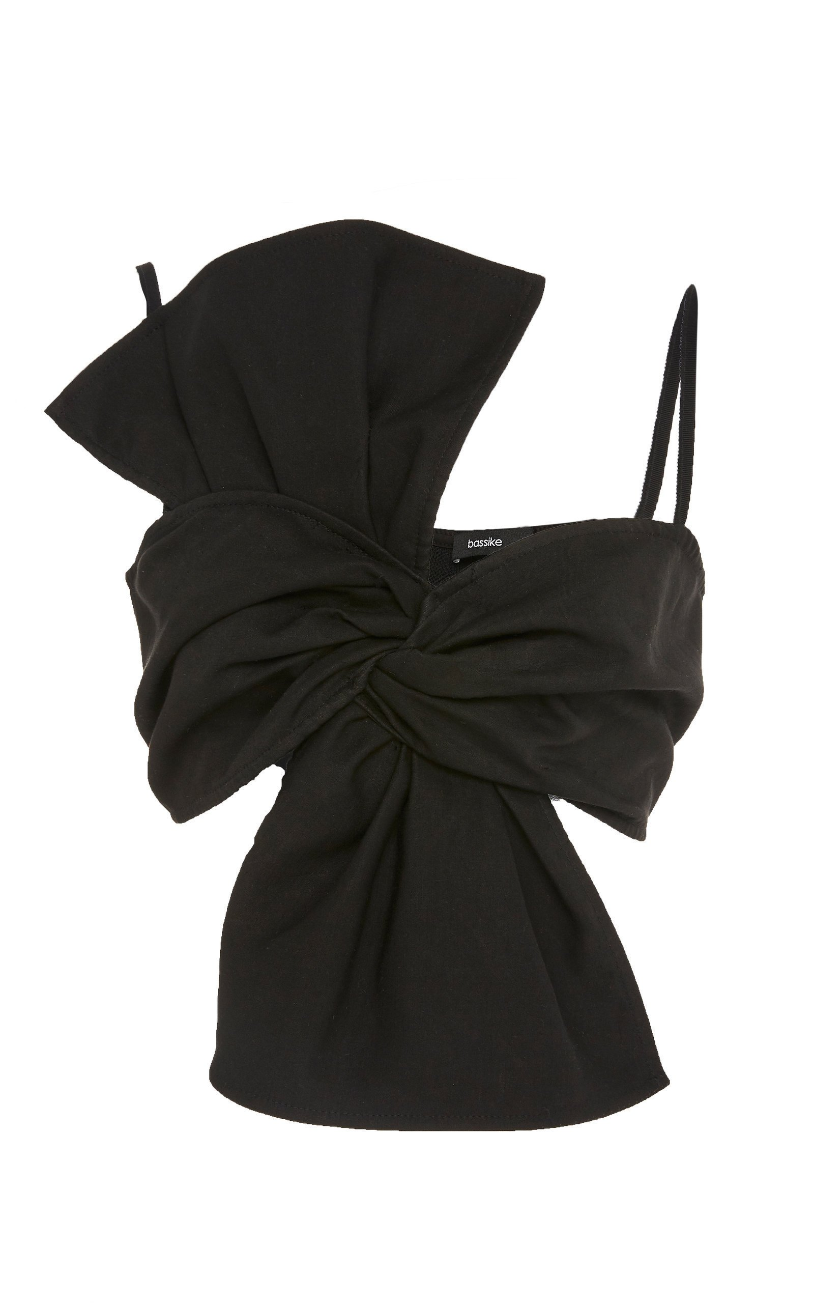 Bassike Bow-Accented Bandeau Top