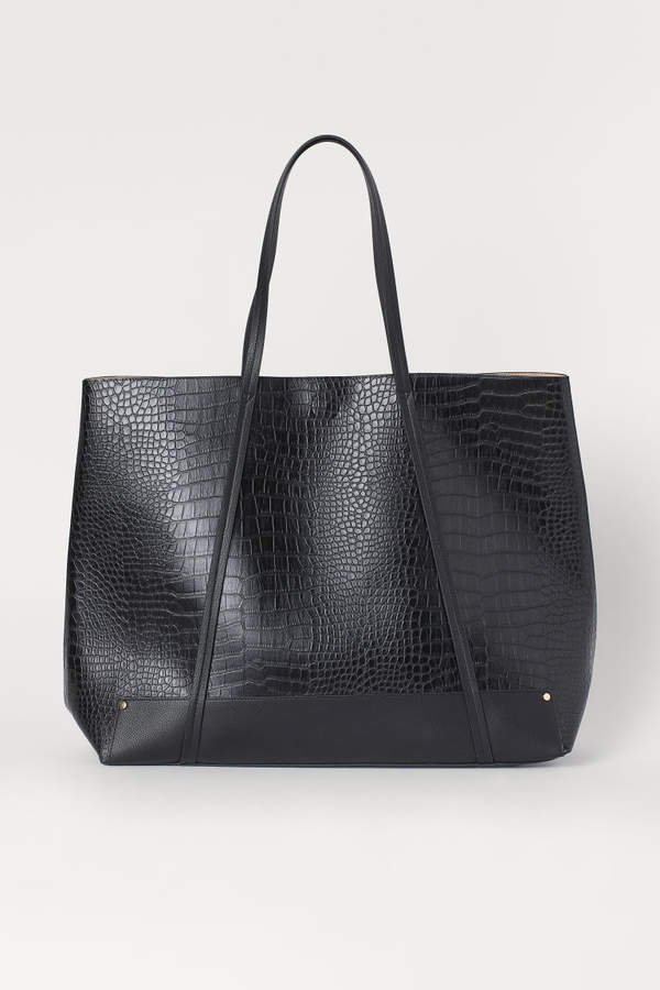 Large Shopper - Black