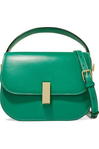 Valextra | Iside leather shoulder bag | NET-A-PORTER.COM