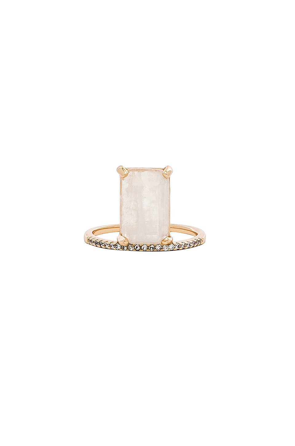 Emerald Cut Stacking Ring