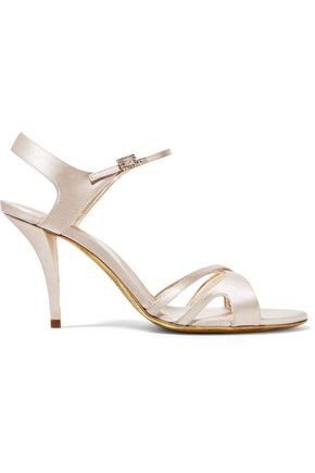 Cutout satin sandals | ROGER VIVIER | Sale up to 70% off | THE OUTNET