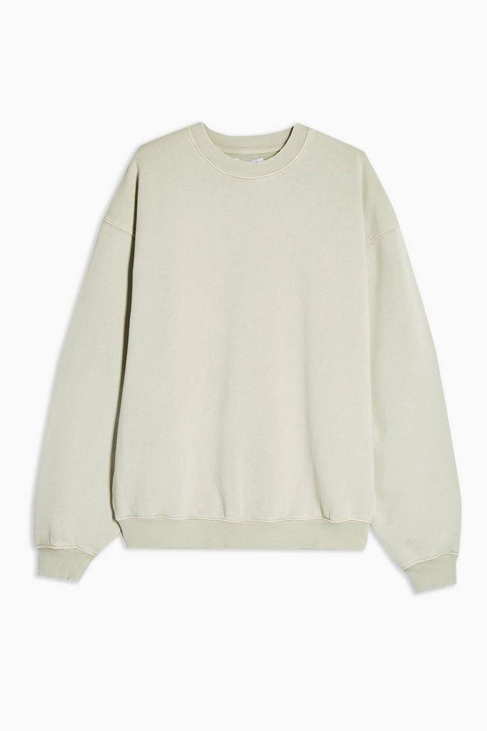 Stonewash Sweatshirt | Topshop mint