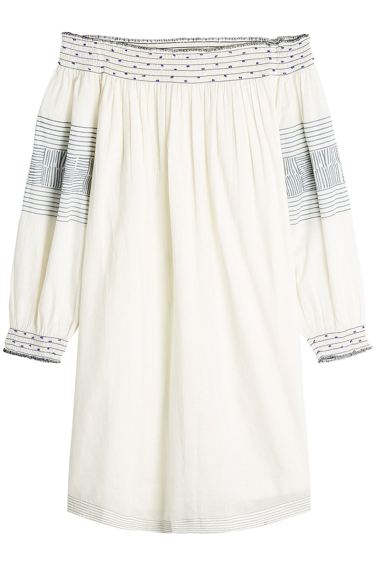 Cotton Off-The-Shoulder Dress Gr. M