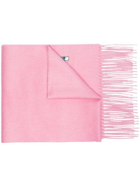 Gucci pink silk cashmere-blend scarf with sequin Guccy SS19 - Fast AU Delivery