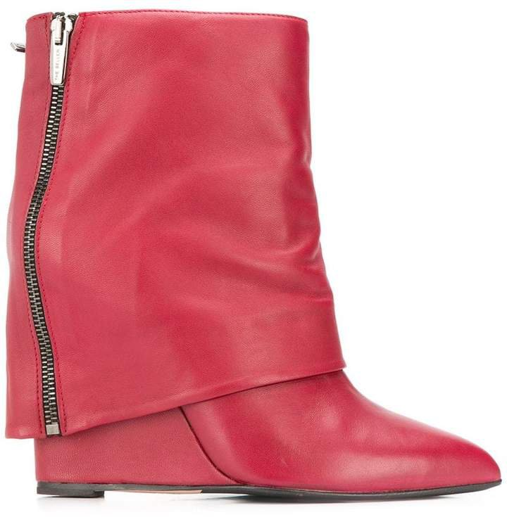foldover flap boots