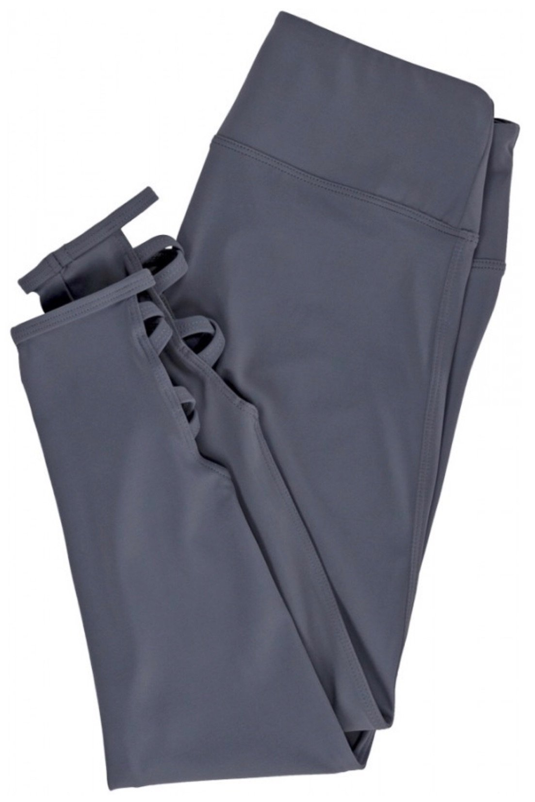 grey folded leggings