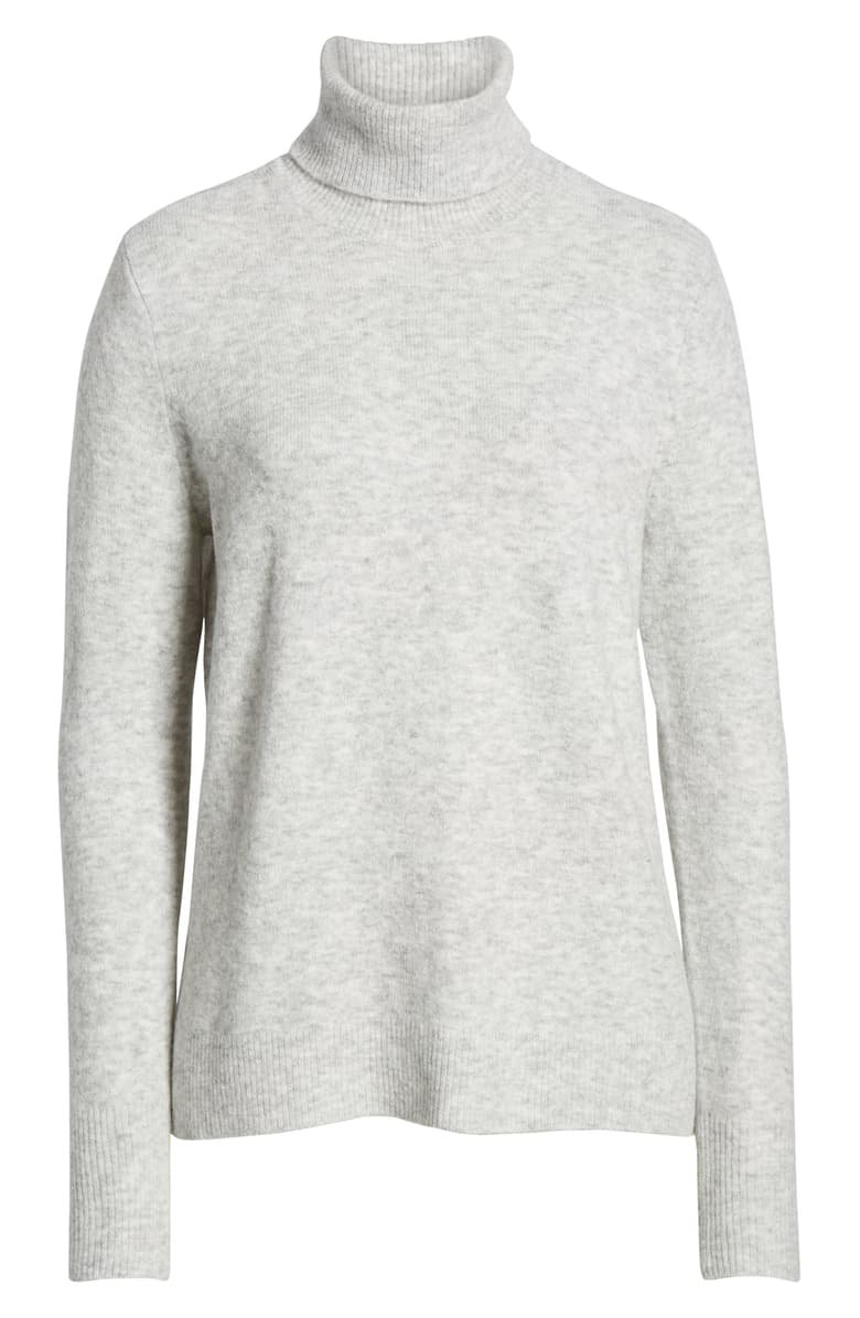 Halogen® Turtleneck Sweater grey