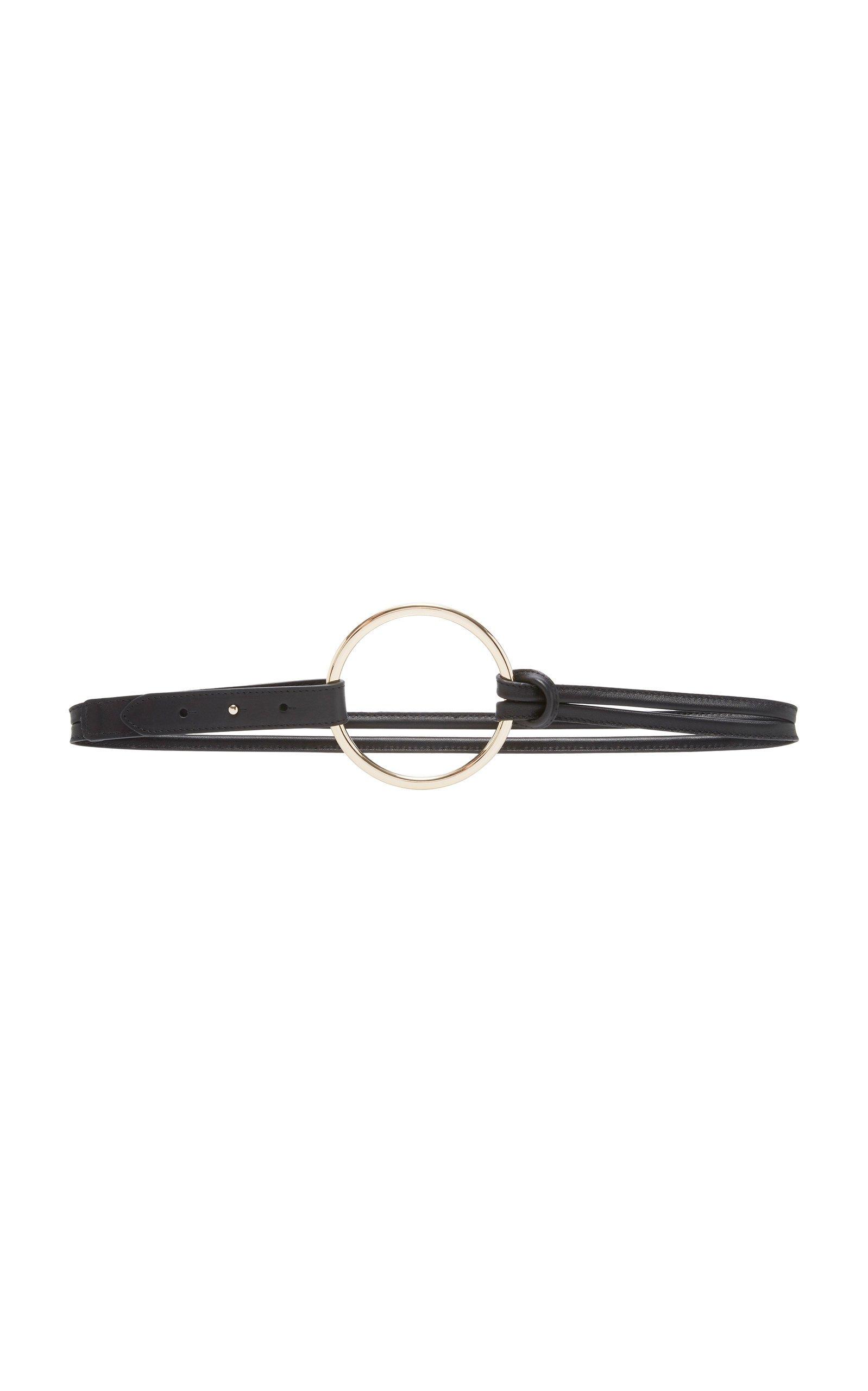 Maison Boinet Double Strap Ring Leather Belt