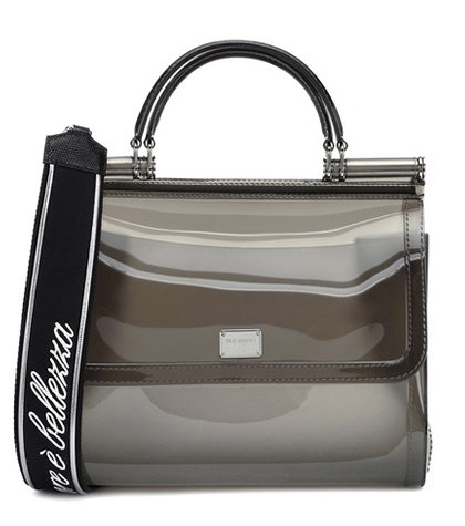 Transparent Sicily shoulder bag