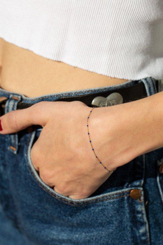 Gold Beaded Bracelet - Bracelets - Jewelry - Accessories