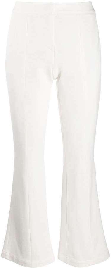 Semicouture tailored cropped trousers