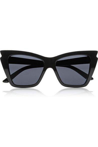 Le Specs   Rapture cat-eye acetate sunglasses   NET-A-PORTER.COM