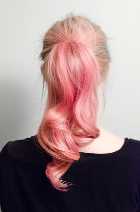 Pink Hair- Ponytail