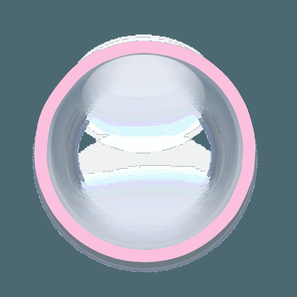 roundfreetoedit pink circle frame border geometric geo...