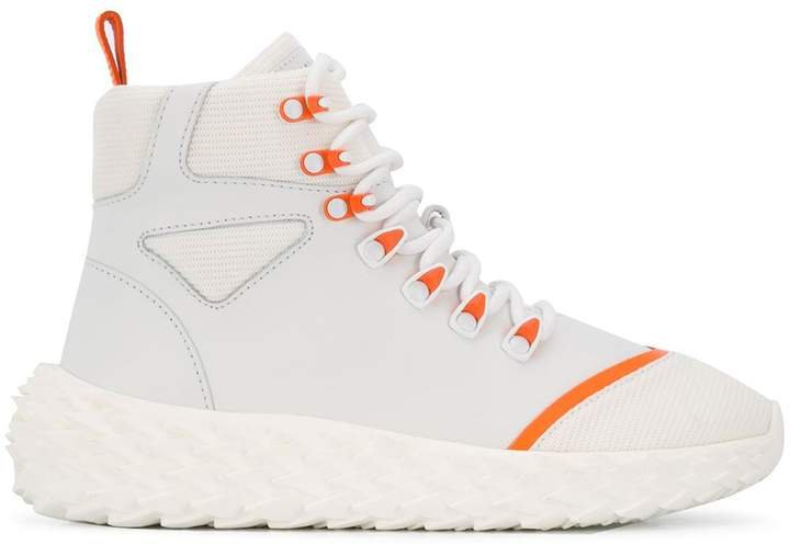 lace-up sneaker boots