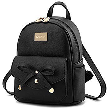 Amazon.com: Cute Mini Leather Backpack Fashion Small Daypacks Purse for Girls and Women: Gateway