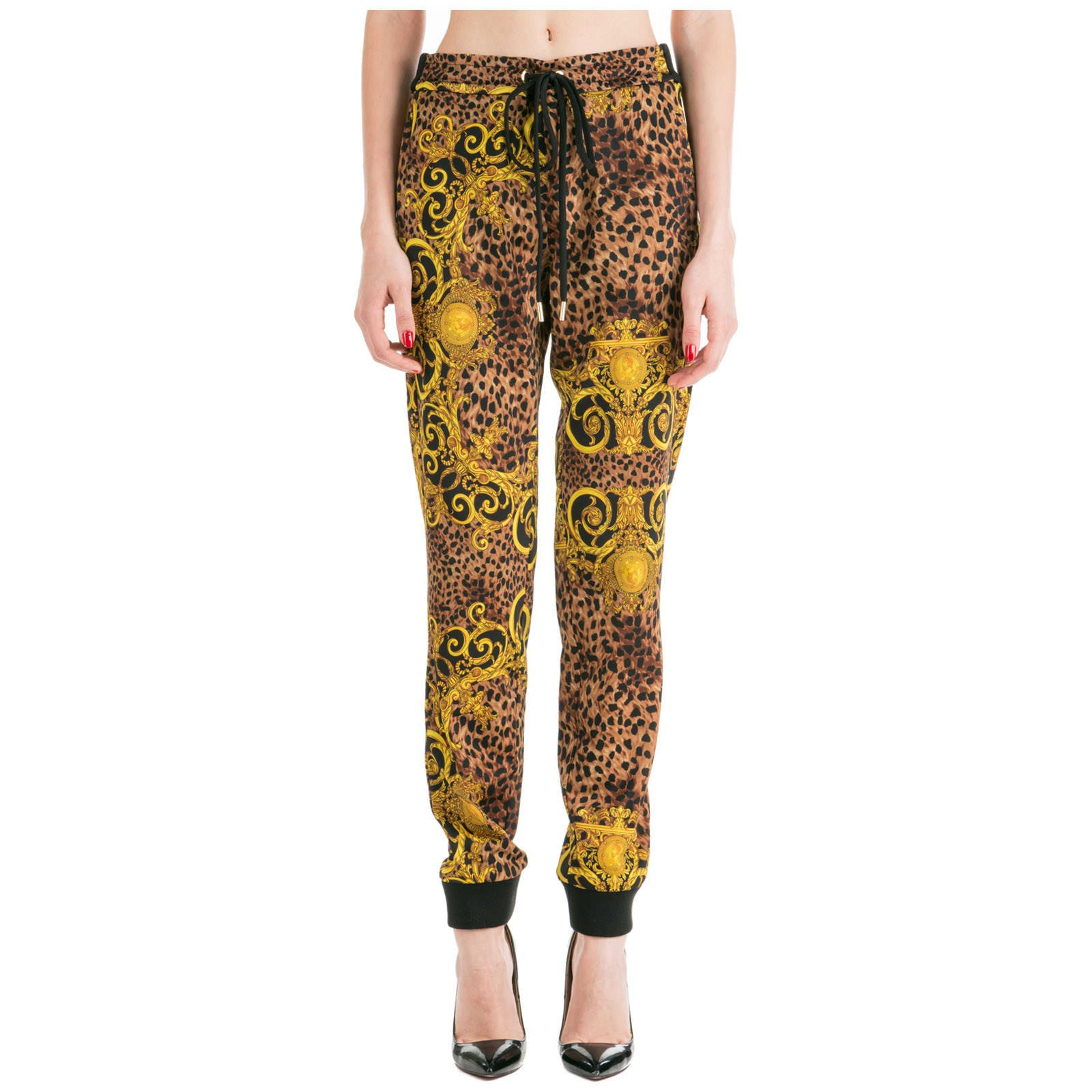 Versace Jeans Couture Sport Tracksuit Trousers Leo Baroque