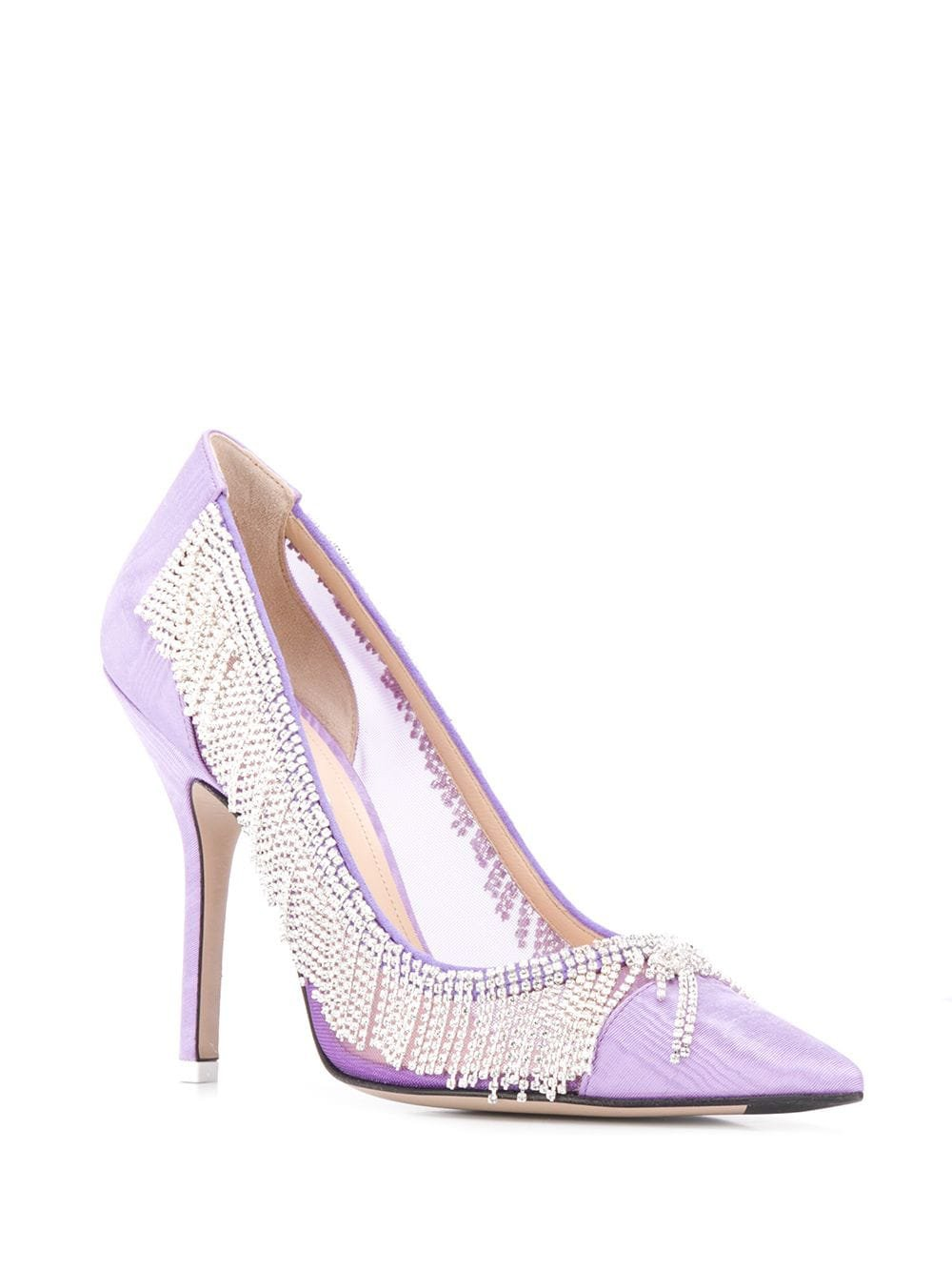 Attico embellished pointed pumps