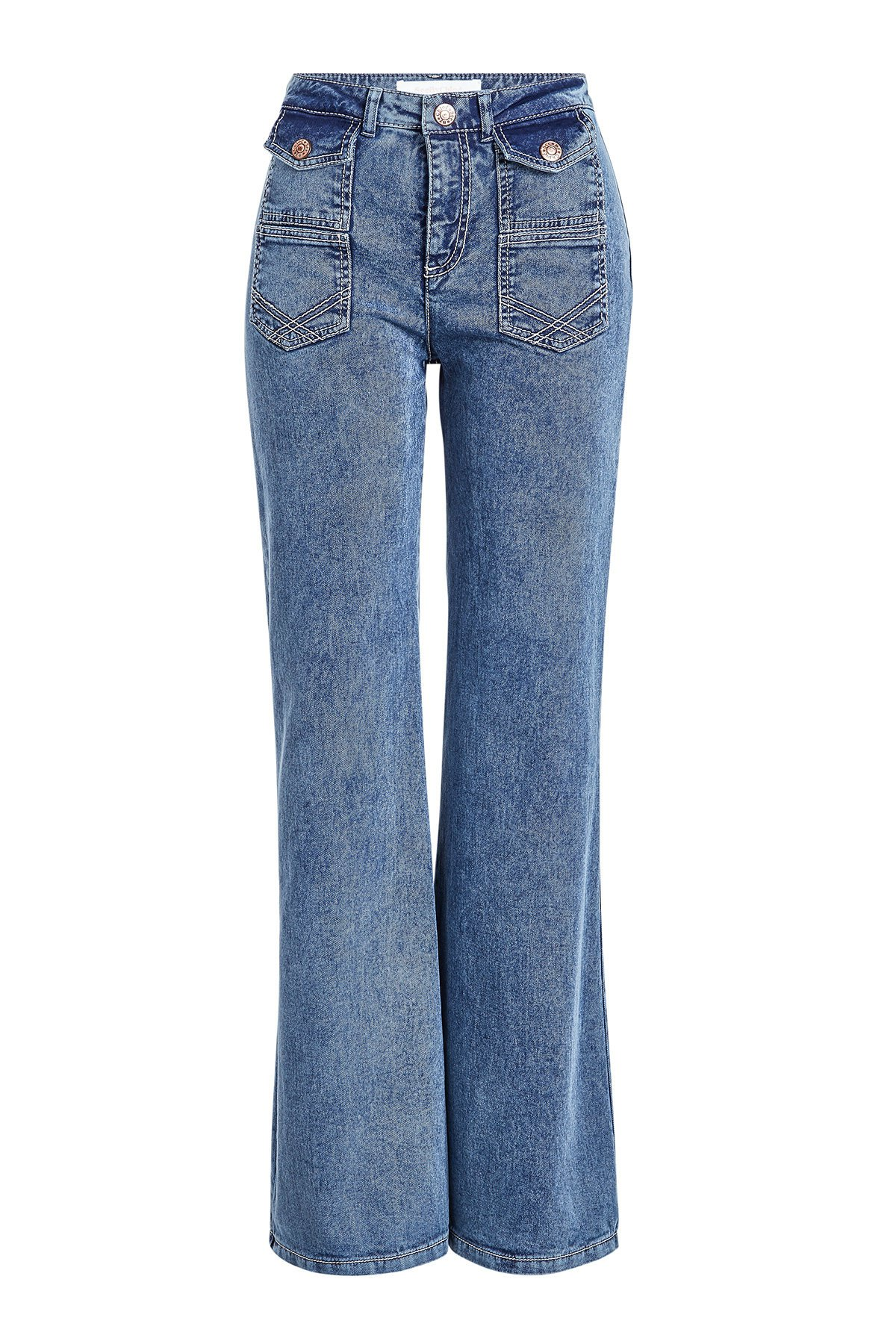 Flared Jeans Gr. 28
