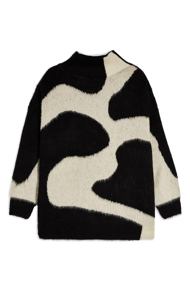 Topshop Swirl Pattern Sweater | Nordstrom