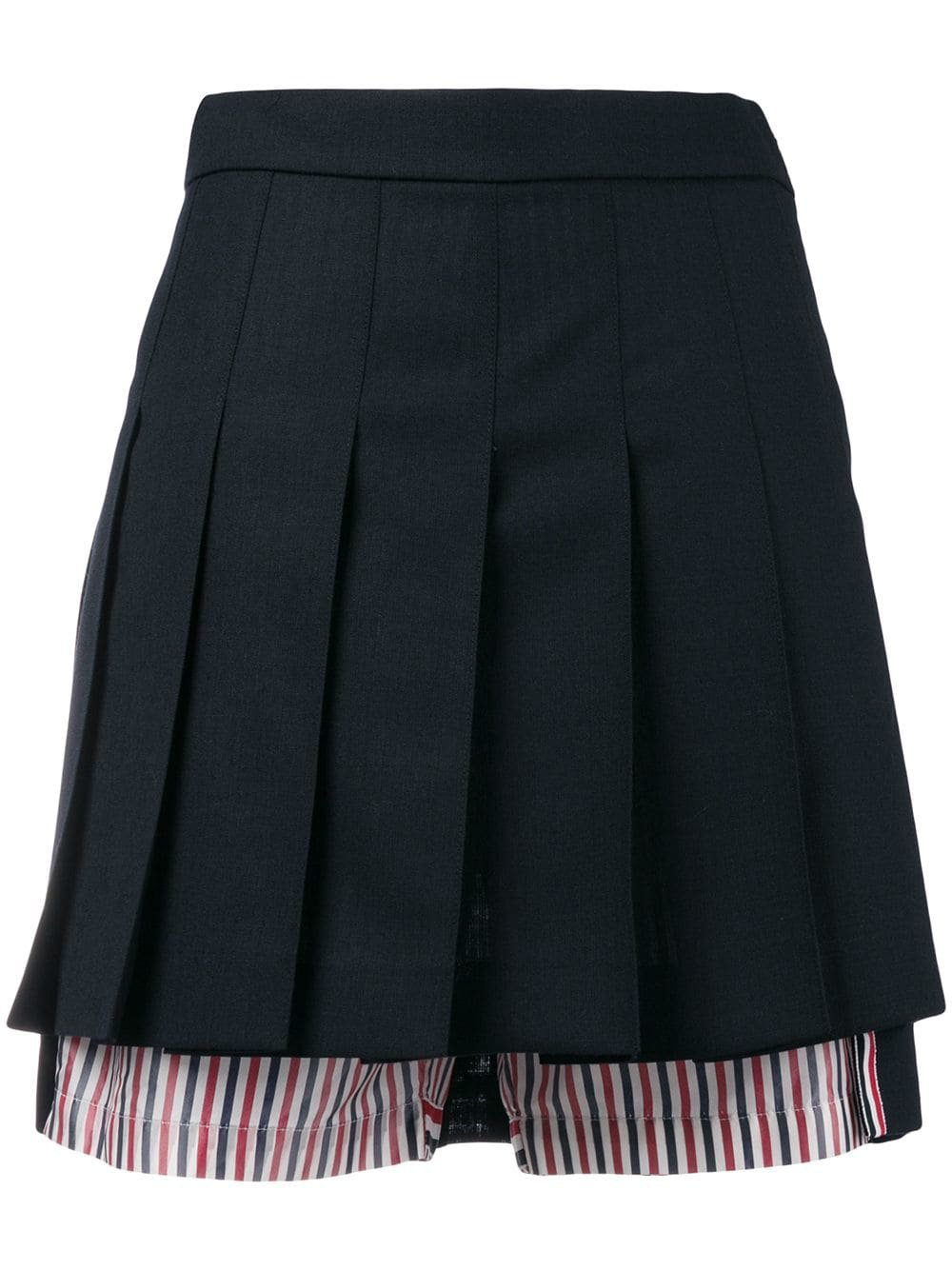 Thom BrownePleated Bloomer Miniskirt Pleated Bloomer Miniskirt £860 - Shop Online SS19. Same Day Delivery in London