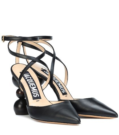 Camil leather pumps