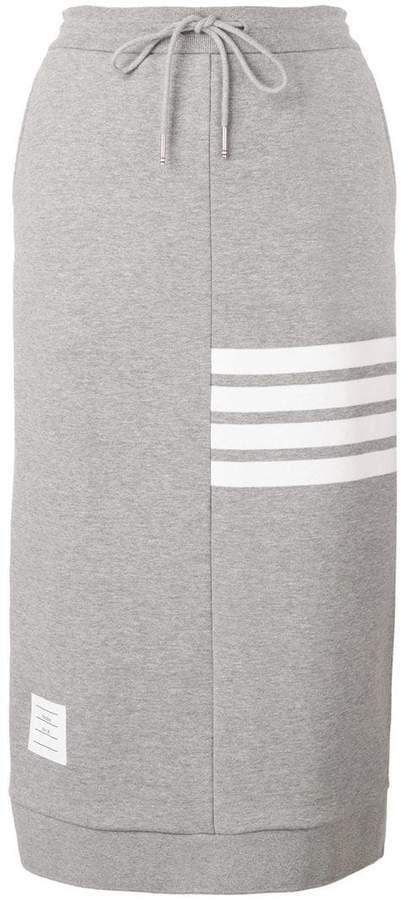 4-Bar Loopback Sack Skirt