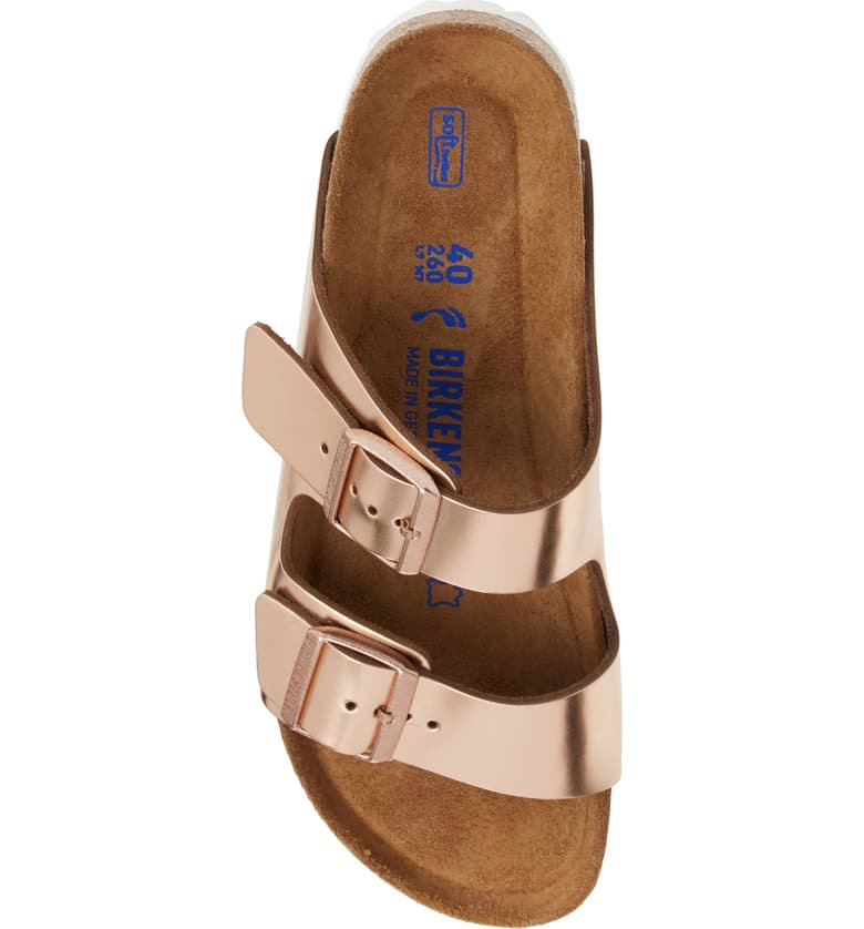 Birkenstock 'Arizona' Soft Footbed Sandal (Women) Pink
