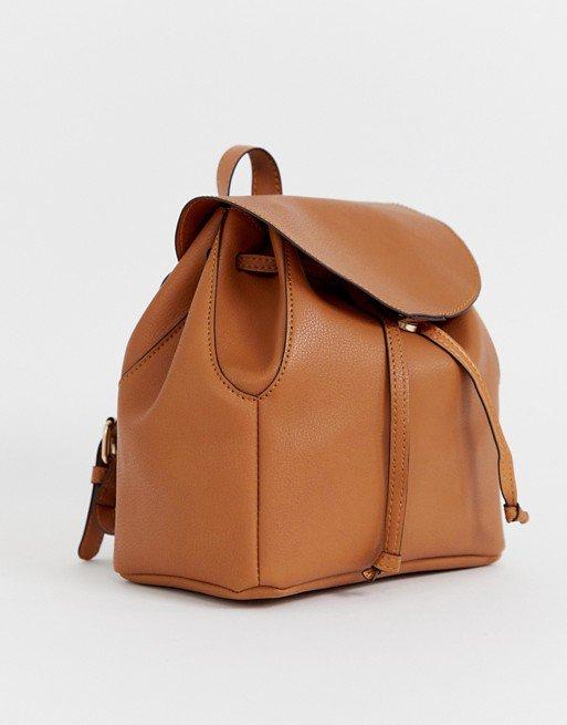 ASOS DESIGN mini soft minimal backpack   ASOS
