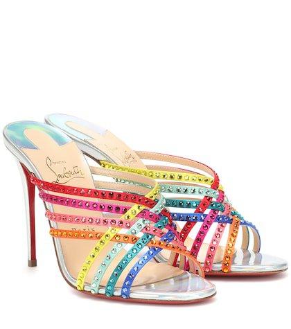 Martha 100 embellished sandals