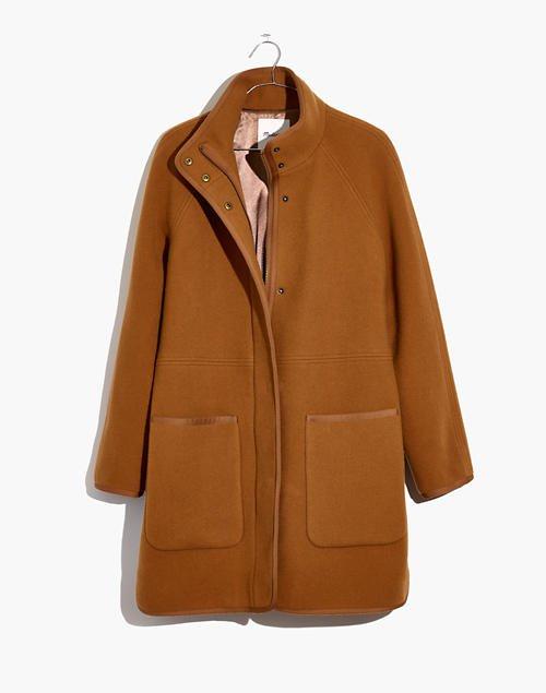 Estate Cocoon Coat camel