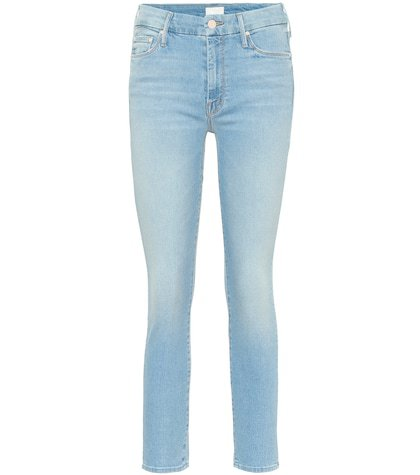 The Looker cropped skinny jeans