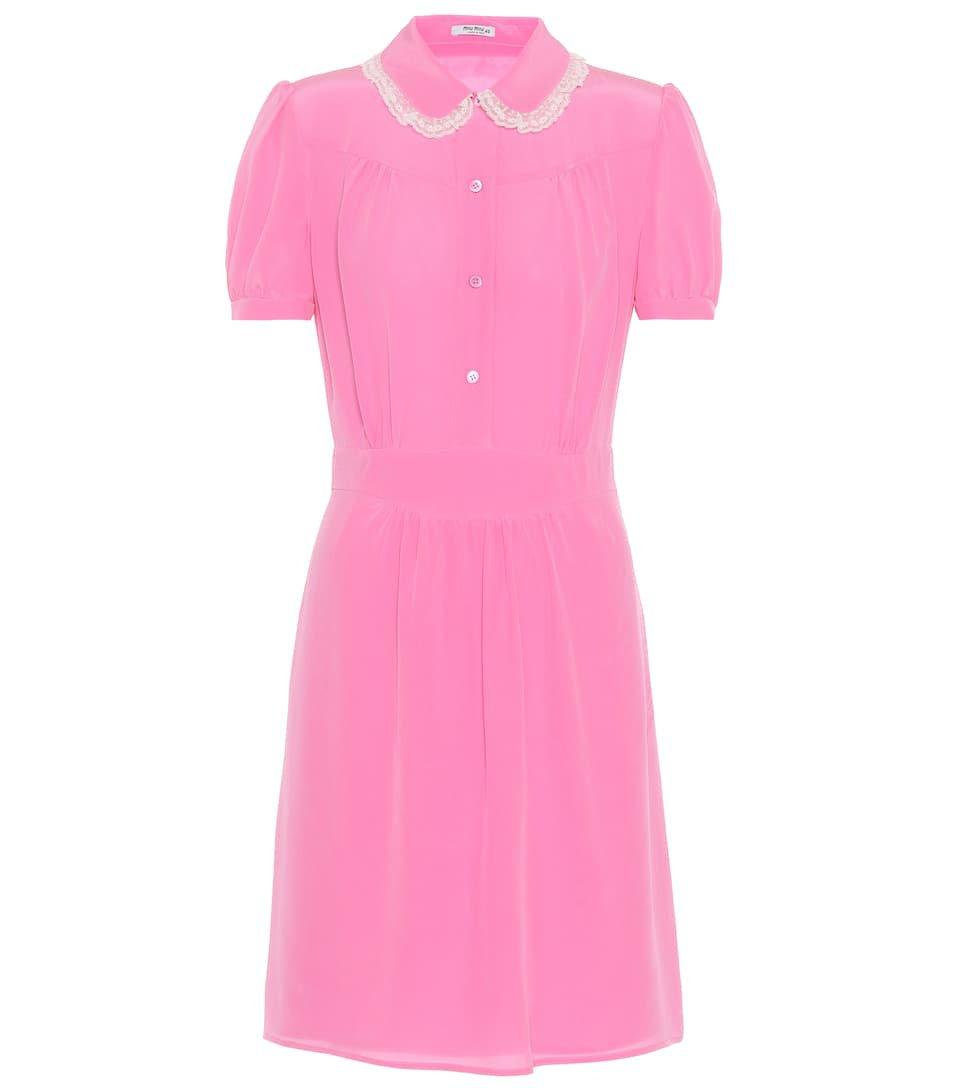 Silk Dress | Miu Miu - mytheresa