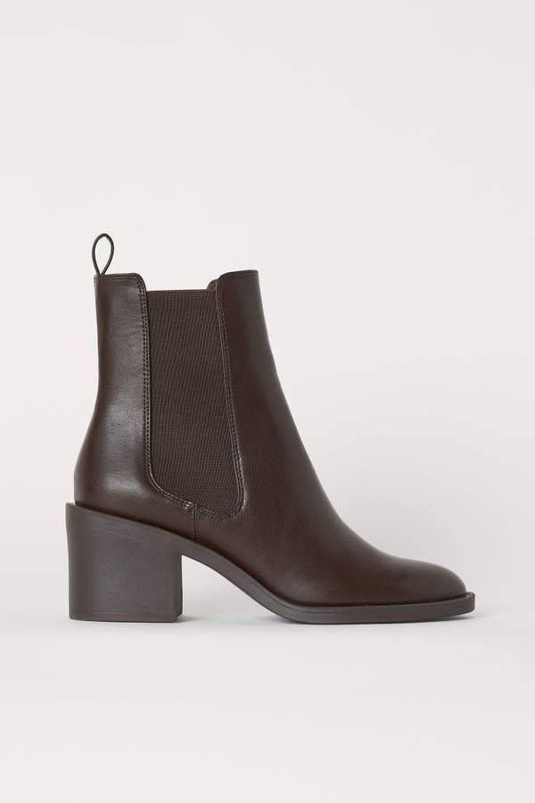 Heeled Boots - Brown