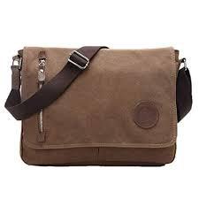 Egoelife LB-BBPHF18 Unisex Casual High Quality Canvas Satchel Messenger Bag for Traveling Camping - Coffee https://www.amazon.com/dp/B01EY13KTI/ref=cm_sw_r_cp_api_i_wDY1CbQ8WNRWG - Google Search