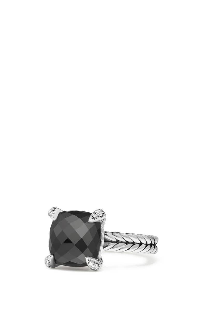 David Yurman Châtelaine Ring with Semiprecious Stone & Diamonds | Nordstrom