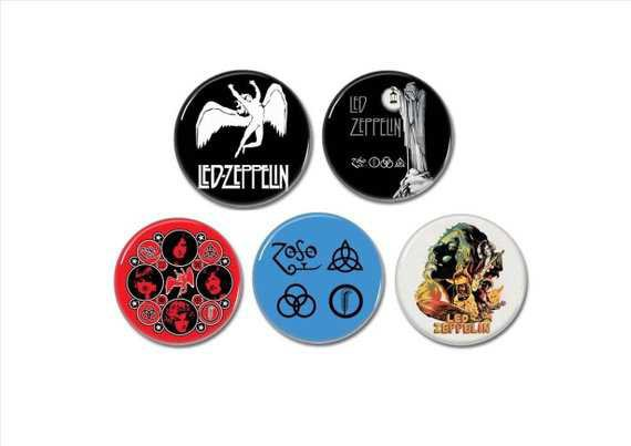 CLASSIC ROCK band button sets 25mm badges pins patches