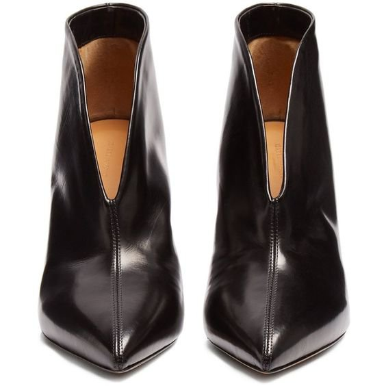 Isabel Marant Adenn leather ankle boots