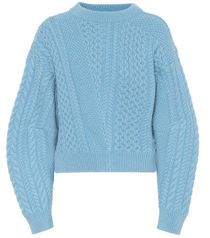 Wool and alpaca sweater
