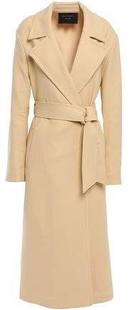 Alyssandra Belted Cotton-blend Twill Trench Coat
