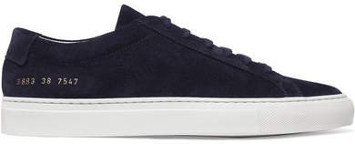 Original Achilles Suede Sneakers - Black