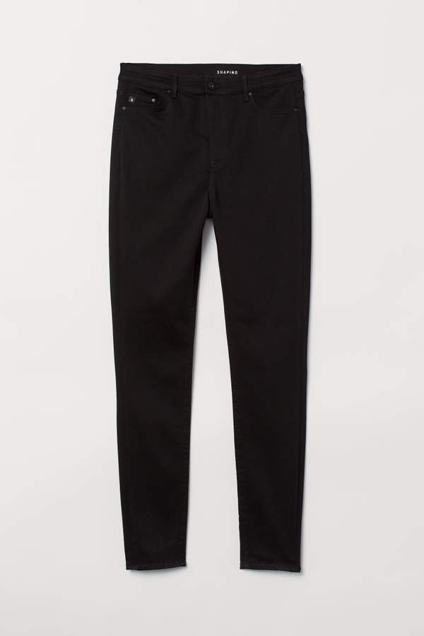 H&M+ Shaping Skinny High Jeans - Black