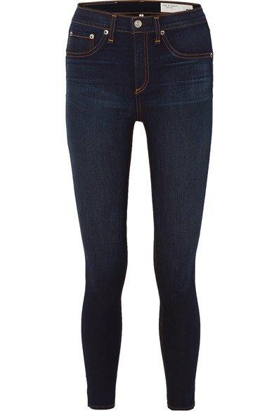 rag & bone   High-rise skinny jeans   NET-A-PORTER.COM