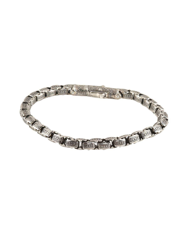 Konstantino Small Link Sterling Silver Bracelet