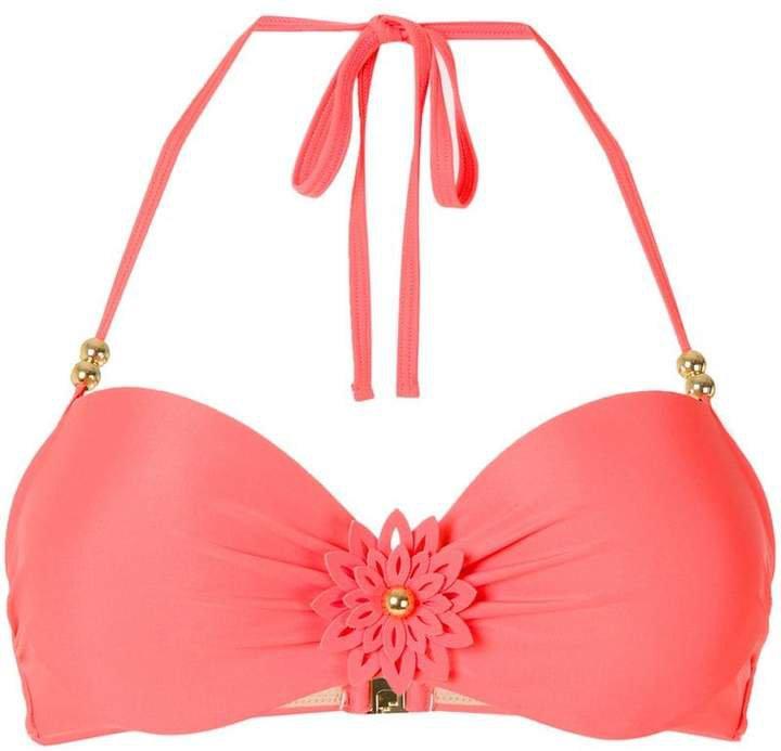 La Flor balcony bikini top
